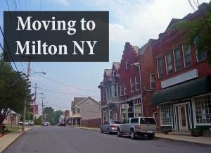 Moving to Milton NY