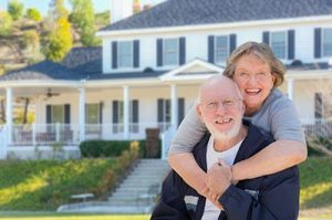 Senior Couple Who Secured a Reverse Mortgage on Their Home
