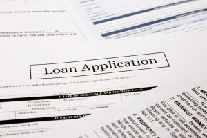 FHA loan application form